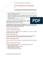 Learner Guide for as and a Level Chemistry