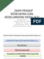 Prinsip-prinsip Kesehatan Dan Keselamatan Kerja (k3)