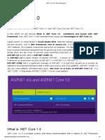 _NET Core 1