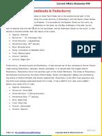 Tamil Nadu & Puducherry Current Affairs 2016 (Jan-Nov) by AffairsCloud