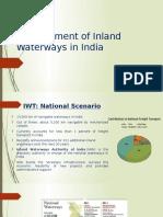 Development of Inland Waterways in India (1)