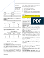 NFPA-13- Pressure Requirement for Fire Fighting System