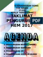 Taklimat Pengurusan Hem 2017
