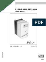 Instrukciya KEB COMBIVERT R4-F Ver.1.0 (Ang;Nem.)