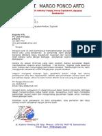surat penawaran proyek