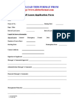 21545516 Staff Leave Application Form