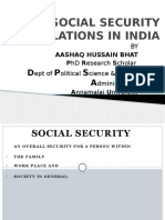 Social Security Legislations in India