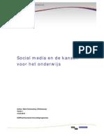 Social media en de kansen voor het onderwijs