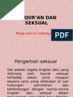 Ppt Sains Dan Seksual