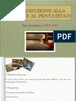 Bibbia e Pentateuco
