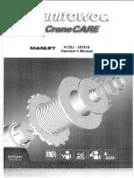 Operator's Manual- A125J - 257518