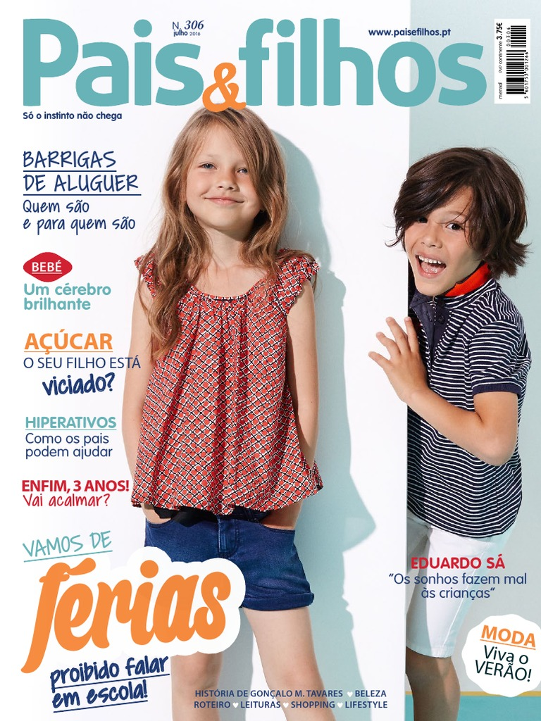 Pais   Filhos Portugal - Nº 306 (Julho 2016) dc08df2e3d8
