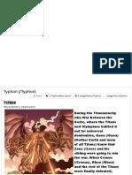 MrPsMythopedia - Typhon