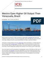 (December 07 2016) Mexico Eyes Higher Oil Output Than Venezuela, Brazil _ OilPrice