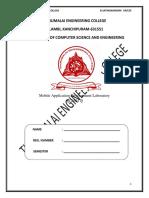 CS6611 Mobile Application Development Lab
