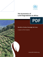 Land Degredation in Africa