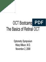 The Basics of Retinal OCT Oct-b