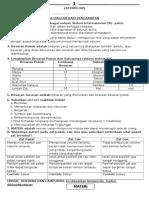 Soal Kelas 7 SMP - 2014 10 05th - Jawaban
