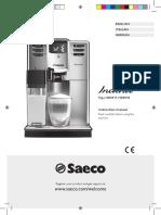 Manuale Istruzioni Saeco Incanto HD8917, HD8918