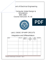 Lab 2_Integrators Differentiators