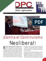 DPC 4 - Boletín Informativo del Dpto. de Prensa y Comunicaciones de la Confederación General de Trabajadores del Perú (CGTP)