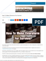 How to Make Chloroform for Survival _ Survivopedia