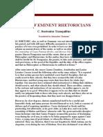 Suetonius_Lives of Eminent Rhetoricians