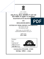 Maintenance Handbook on Roller Bearing Fitted on WDM2 Diesel Locomotive - English_2