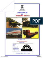 Question Bank on Freight Stock