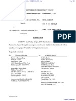 CROSS ATLANTIC CAPITAL PARTNERS, INC. v. FACEBOOK, INC. et al - Document No. 102