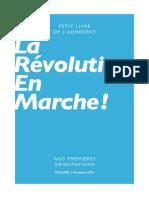 Livret Révolution En Marche - Volume 1