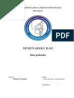 Baza Podataka - Uvod