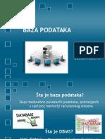 Uvod u Baze Podataka