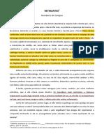 CAMPOS, Humberto de. Retirantes