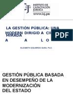 Gestion Publica Dirigida Ciudadano
