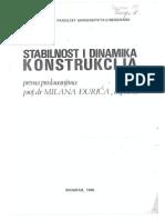 Stabilnost i Dinamika Konstrukcija - Milan Djuric
