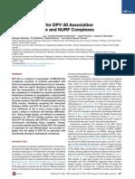 Molecular Basis for DPY30 Association