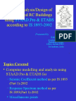 Seismic Design of RCC Buildings