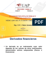 Semana 4 Inversiones Financieras- Resumen de Derivados Financieros