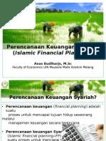 Perencanaan Keuangan Syariah
