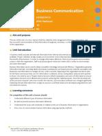 Unit 4 Business Communication Issue 2