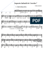 Suite Para Orquesta Infantil, fabián Andrades