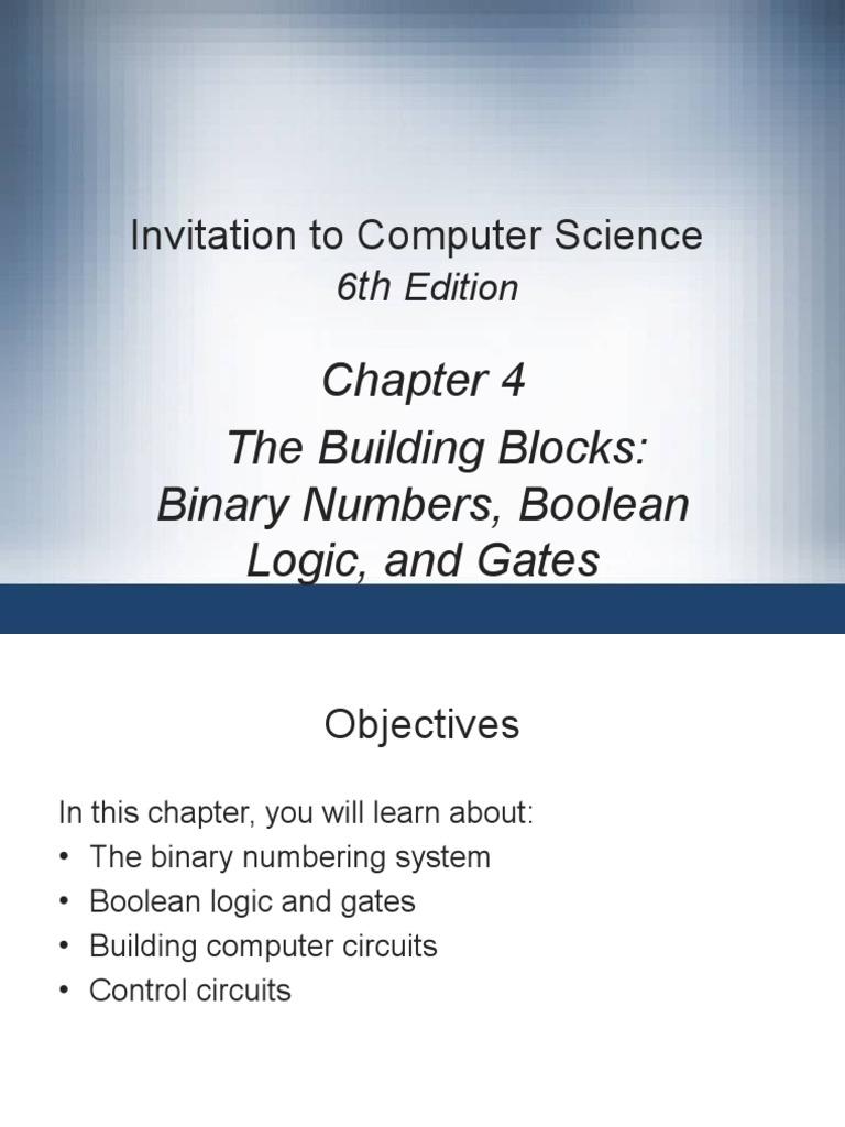 Ch04 Binary Numbers And Boolean Logic Data Compression Decoder 4 Input Circuit 8 Bit To Decimal Converter 2 Algebra