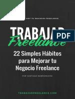 22 Simples Habitos Para Mejorar Tu Negocio Freelance