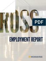 2016 Employment Report