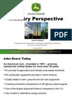 Industry Perspective - John Deere