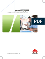 Huawei SmartAX MA5600T MA5603T Brief Product Brochure(2016)