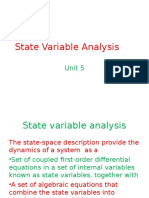 State Variable Analysis 1 Final