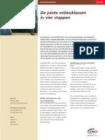 ENCI Informatieblad de Juiste Milieuklassen (2005)