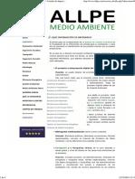 ALLPE Medio Ambiente - Consultoría Ambiental _ Estudio de Impacto Ambiental - ¿QUÉ INFORMACIÓN ES NECESARIA